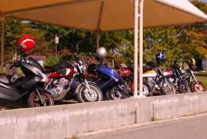 002寒霞渓駐輪場