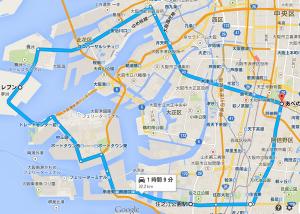 大阪港周遊ルート