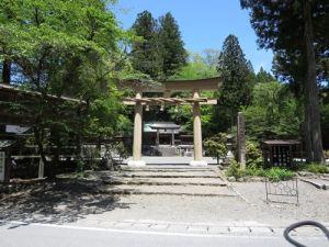 丹生川上神社鳥居
