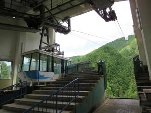 金剛山ロープウェイ2