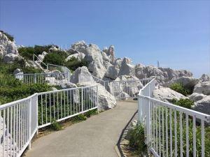 10白崎海洋公園展望台通路