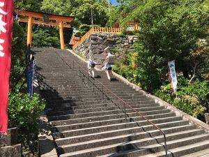 熊野那智大社階段