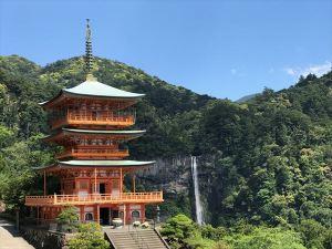25三重塔と那智の滝2