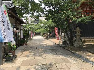 紀三井寺境内